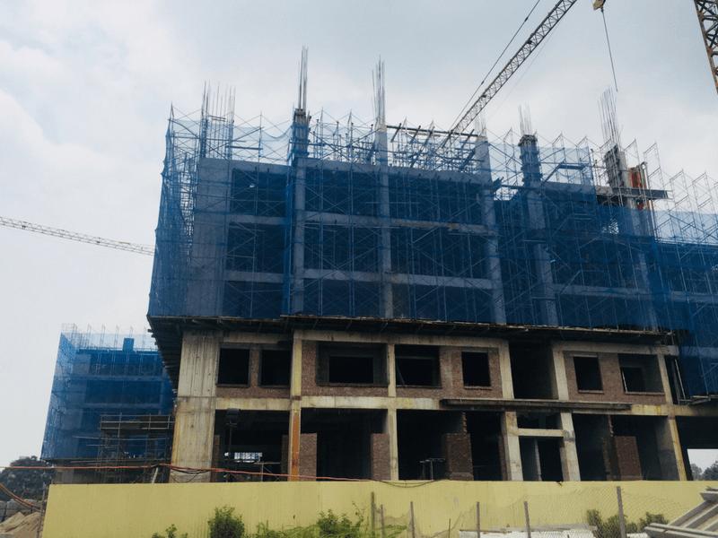 Tiến độ thi công dự án Hanoi Homeland Tháng 7 2018 01