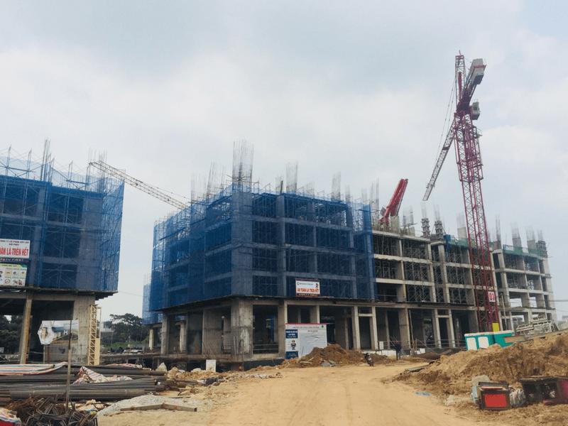 Tiến độ thi công dự án Hanoi Homeland Tháng 7 2018 02