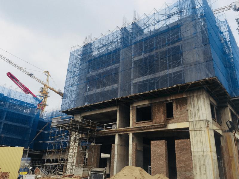Tiến độ thi công dự án Hanoi Homeland Tháng 7 2018 03