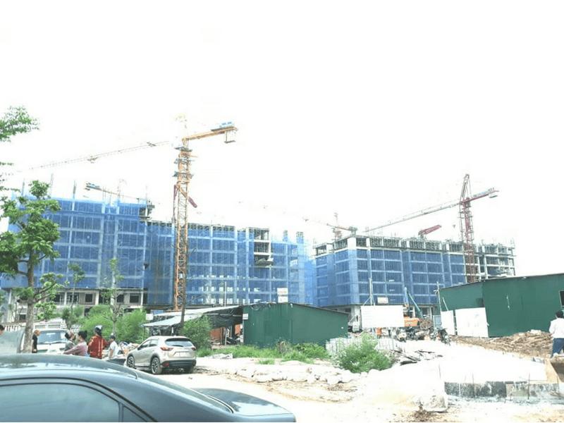 Tiến độ thi công dự án Hanoi Homeland Tháng 7 2018 05