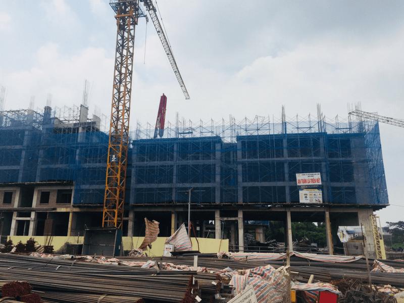 Tiến độ thi công dự án Hanoi Homeland Tháng 7 2018 06